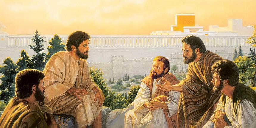 Jesus Cristo e seus apóstolos