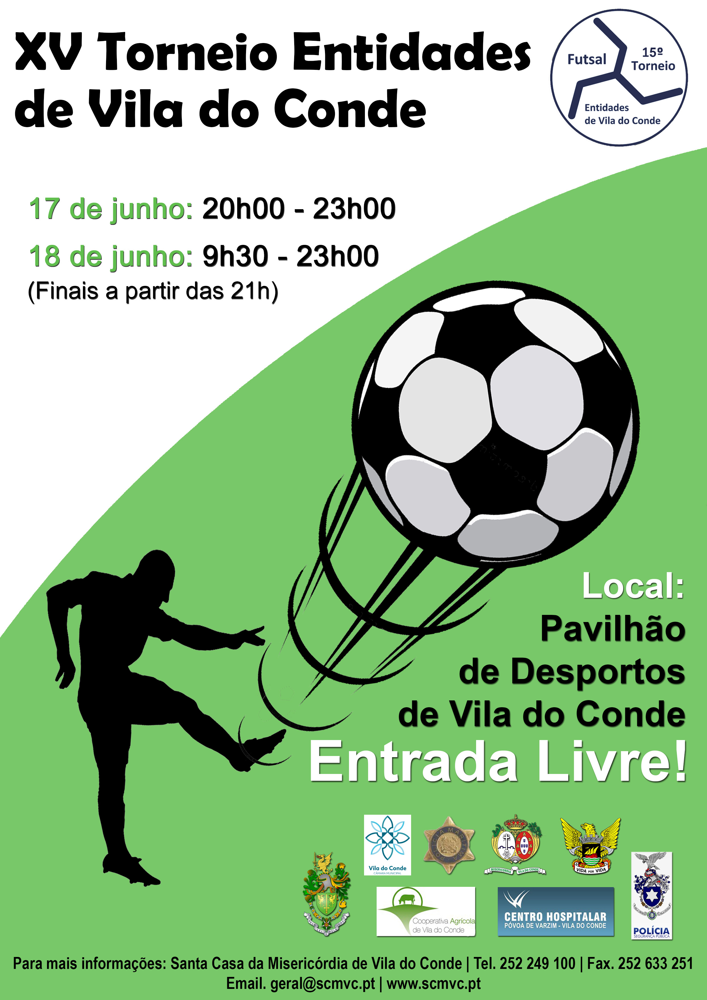15º Torneio Futsal Entidades Vila do Conde