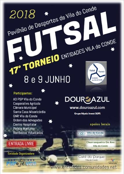 17º Torneio Futsal Entidades Vila do Conde