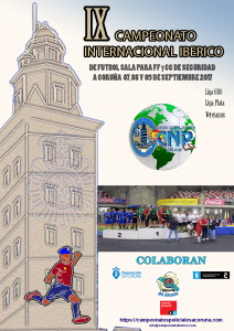 9 Campeonato Ibérico Futsal 2017