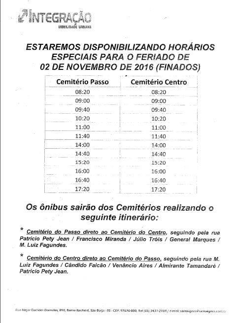 Documento oficial emitido pela empresa
