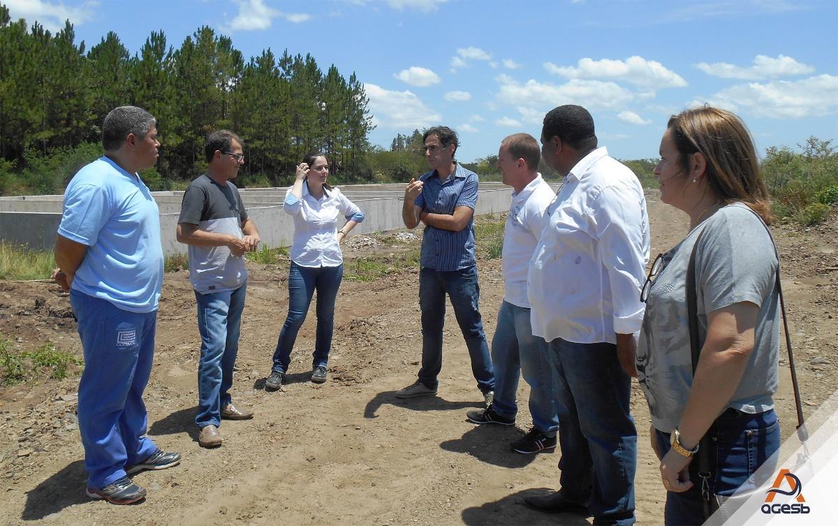 CORSAN recebe visita dos conselheiros da AGESB
