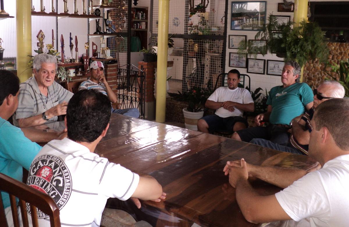 Reunião preparatório para temporada 2012 - Pombal do Gepeto