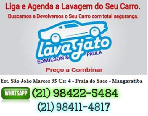 Lava a Jato Praia do Saco - Mangaratiba RJ
