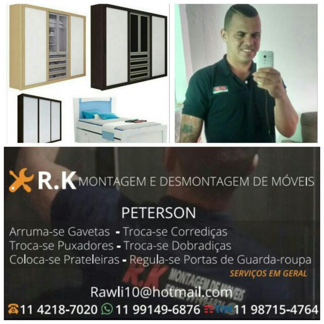 Montador de Móveis Guarulhos - RK Montagem