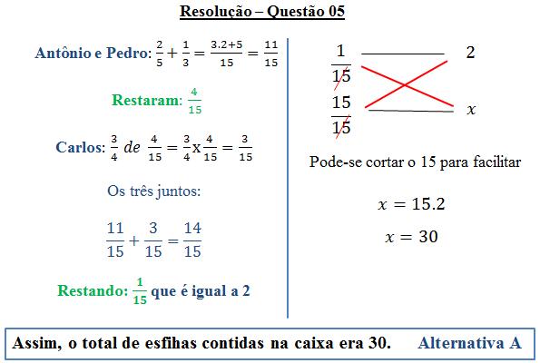 encontre as tres primeiras frações reduzidas de raiz quadrada de 5