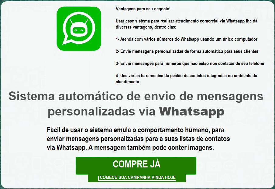 Automação com Whatsapp