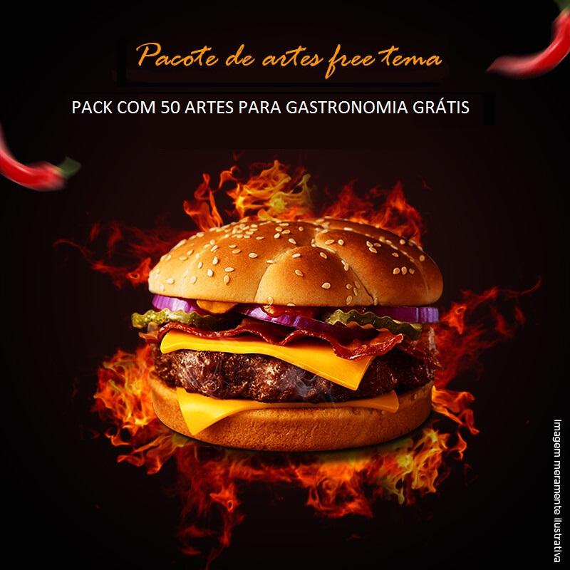 Pacote de Imagens para gastronomia grátis