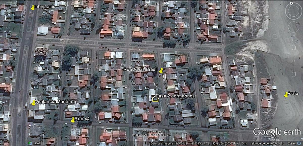 Mapa localização casa 2 dormitórios
