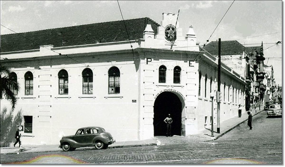 Esquina Rua Duque de Caxias com Av. João Pessoa déc. 60.