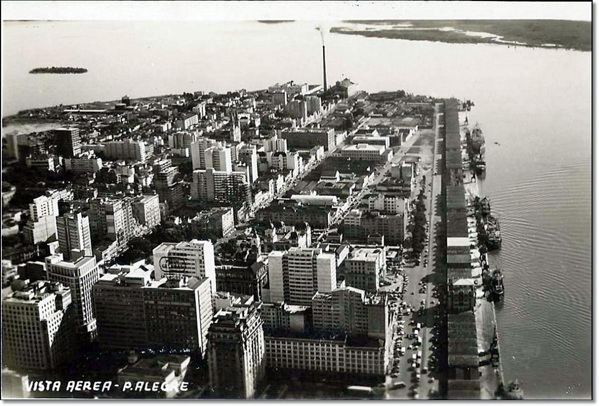 Centro Porto Alegre déc. 1960.