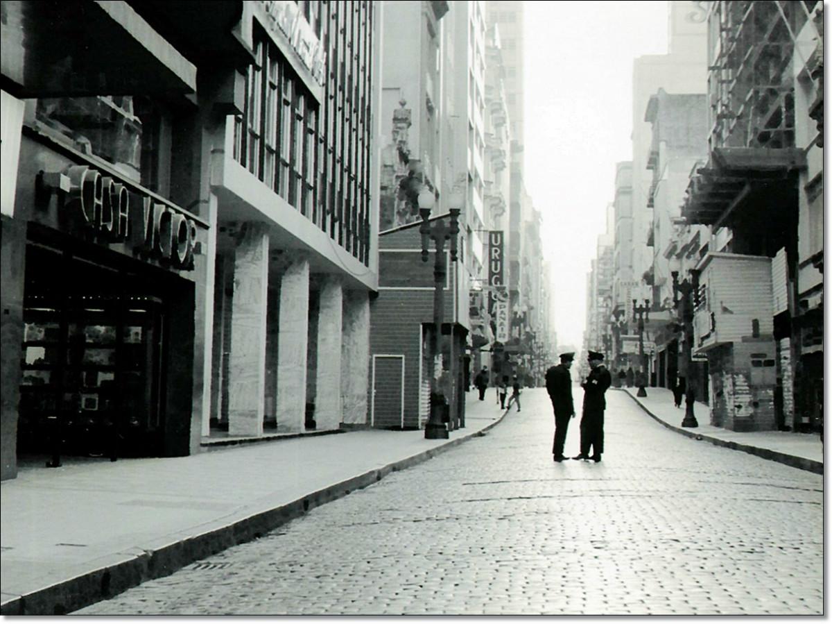 Rua da Praia meados década 60