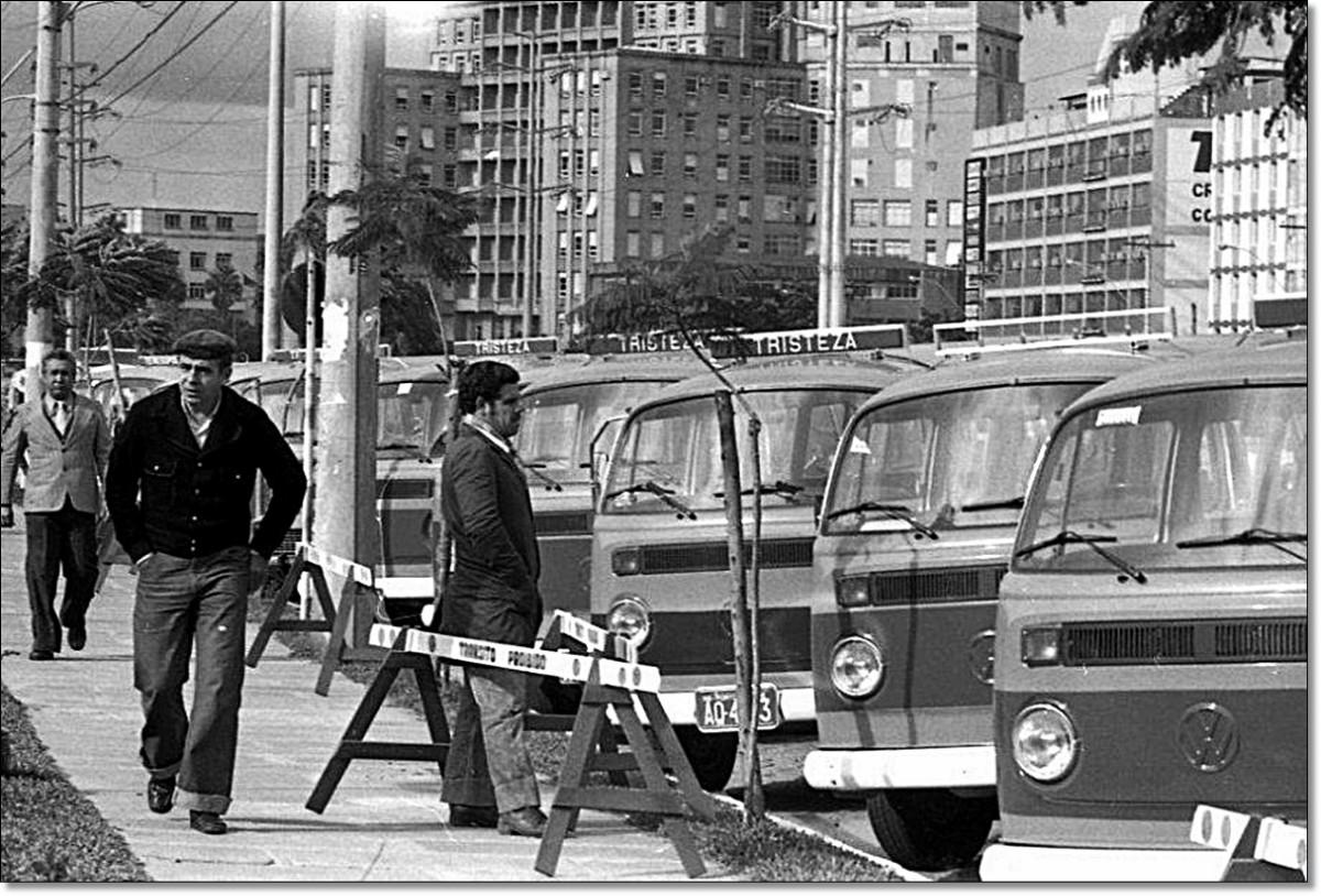 Novas lotações 1977