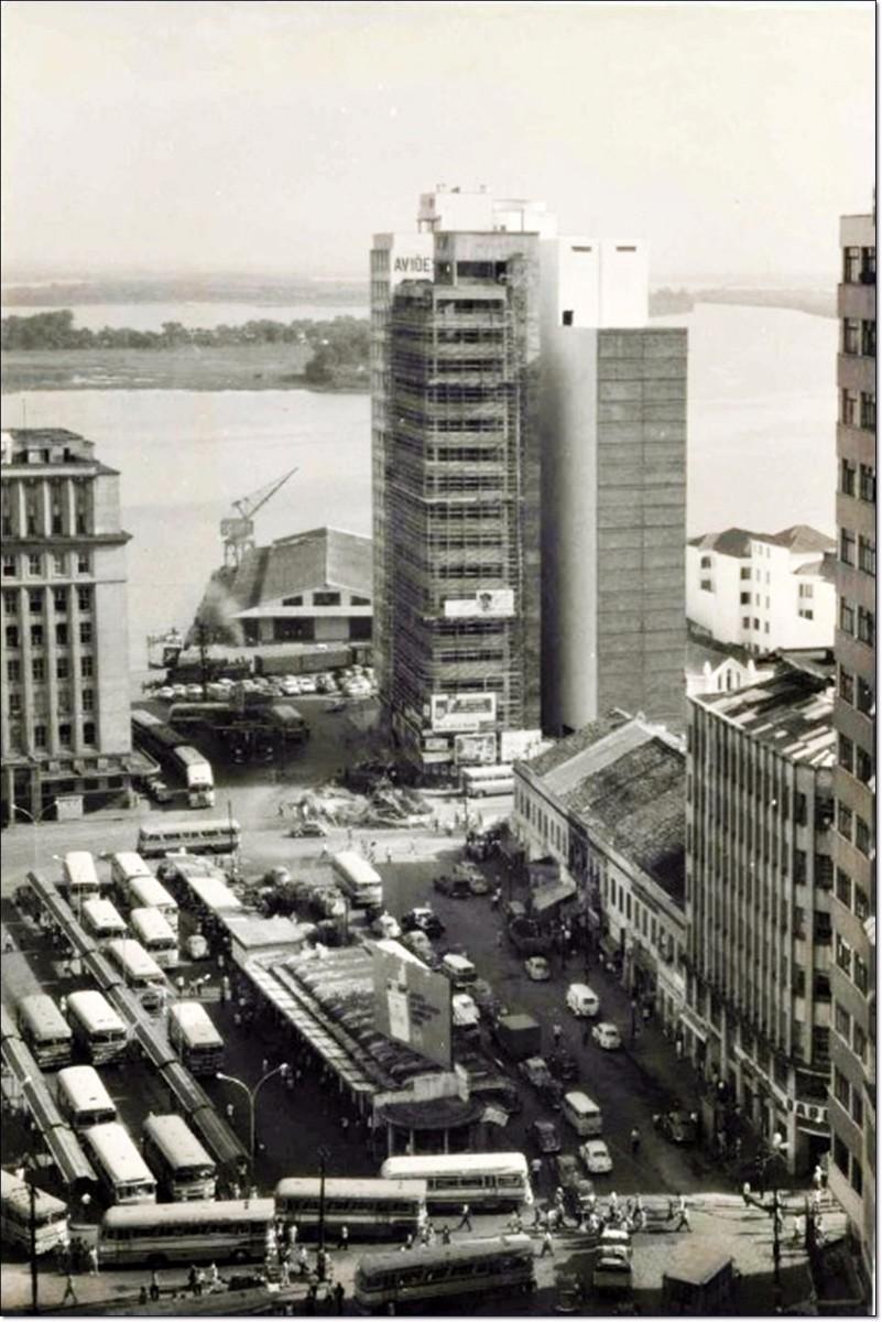 Praça Parobé 1968