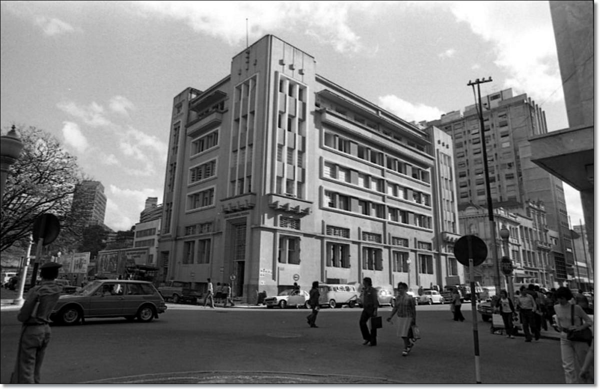 Praça da Alfandega Cx Econ. Federal 1976