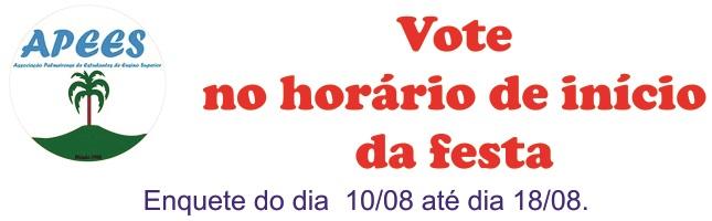 Festa Votação
