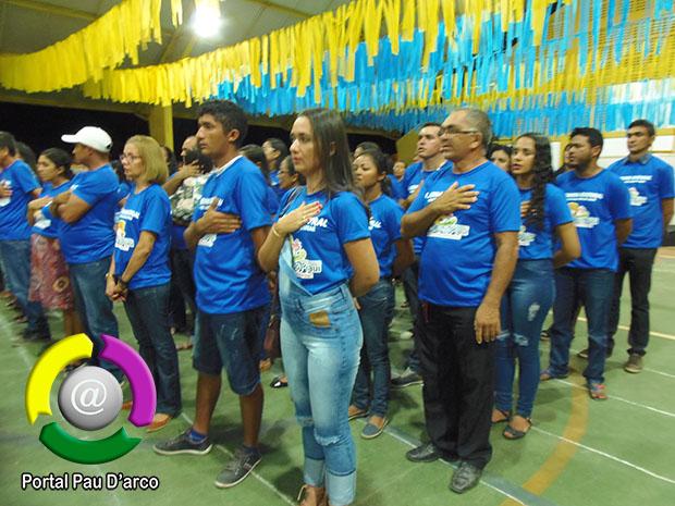 Abertura da II Semana Cultural de Pau D'arco do Piauí