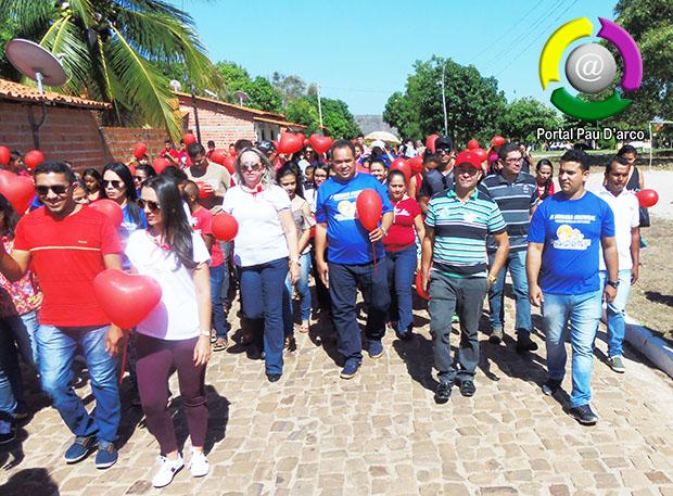 Segundo dia de atividades da 'II Semana Cultural Pau D'arco do Piauí' é marcado por palestras e corrida de atletismo
