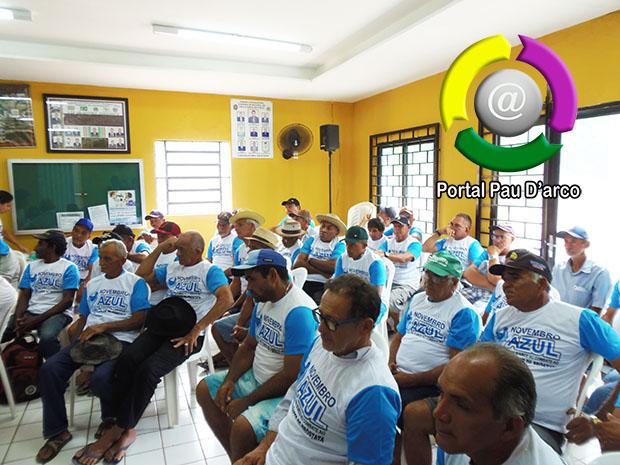 SMS de Pau D'arco realiza ações no Novembro Azul