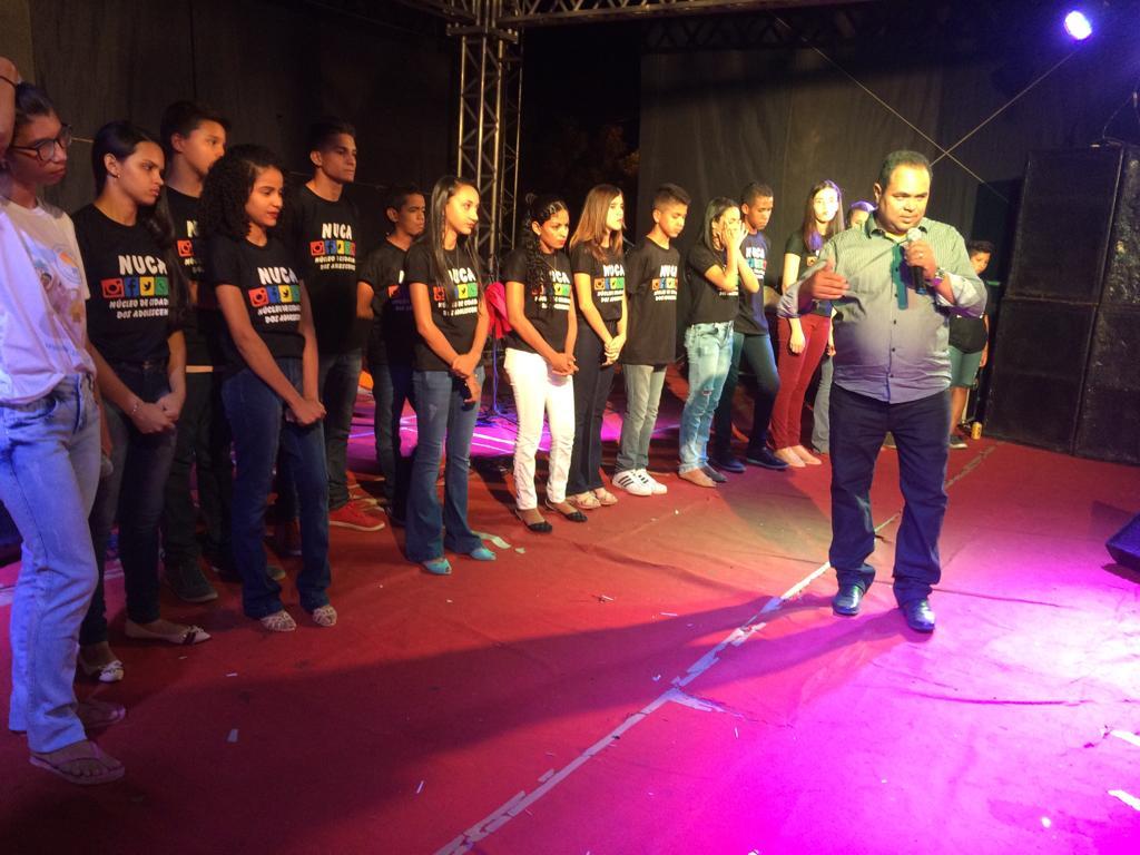 Jovens do NUCA faz apresentação teatral