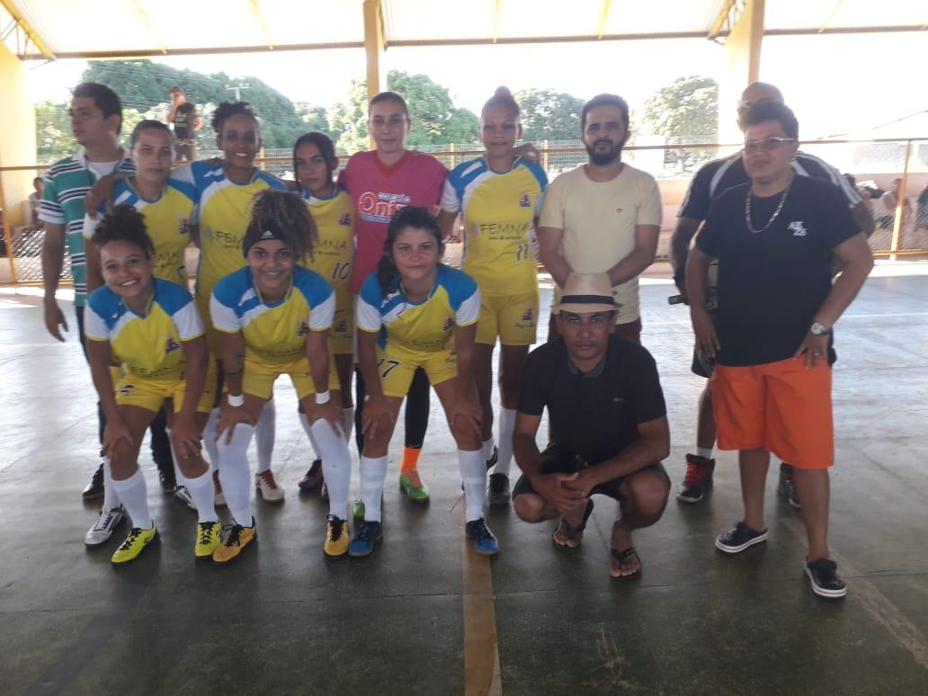 Pau D'arco promove torneio regional   de futsal feminino