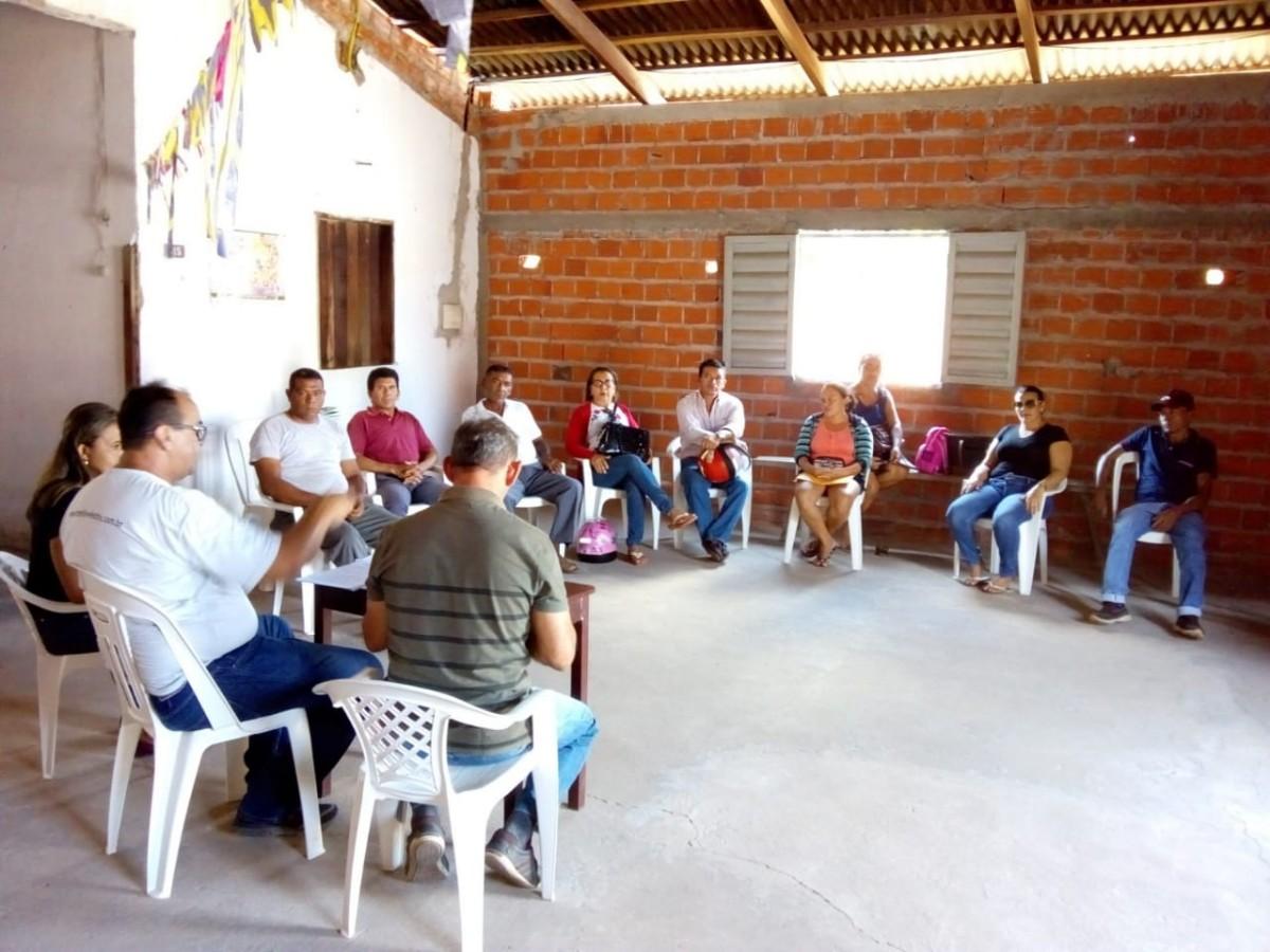 Reunião com agricultores em Pau D'arco do Piauí