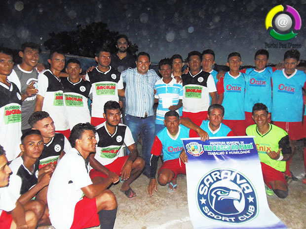 Prefeitura realiza abertura do Campeonato Municipal de Futebol 2018
