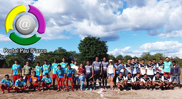 Fonte Nova e Castelete estreia com vitória no Campeonato Zezé Bacelar em Pau D'arco do Piauí