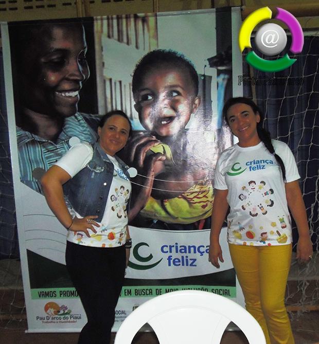 Pau D'arco do Piauí adere ao Programa Criança Feliz