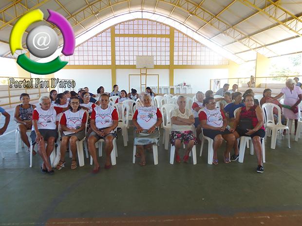 CRAS de Pau D'arco do Piauí promove palestra de conscientização da violência contra a pessoa idosa