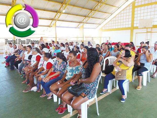 Secretaria de Saúde e o NASF de Pau D'arco do Piauí, realiza campanha Junho Laranha e Junho Vermelho