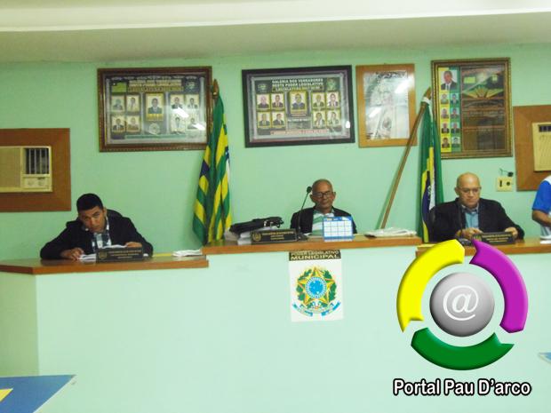 Assista a Sessão da Câmara dos Vereadores de Pau D'arco do Piauí, realizada no dia 20/12/2019