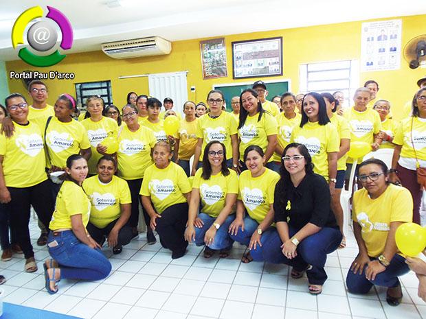 SMS, CRAS E NASF de Pau D'arco do Piauí – Realizam Setembro Amarelo com roda de conversa