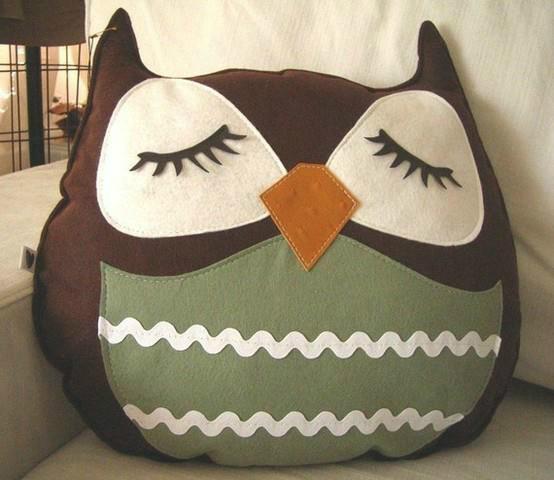 almofada coruja