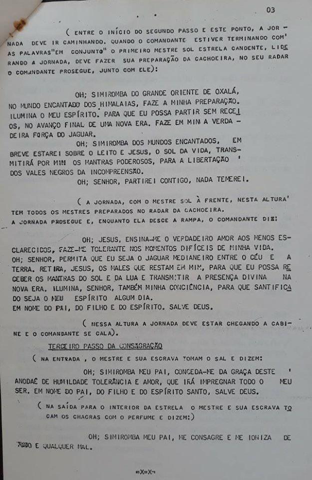 3 PÁGINA DA LEI DA ESTRELA CANDENTE!