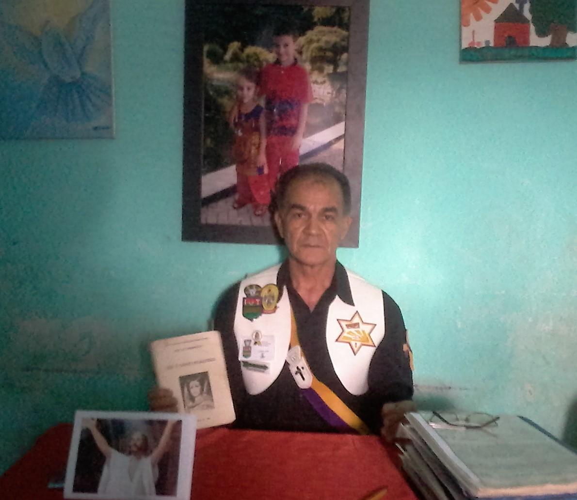 Salve Deus! Comandante Janatã! Adjunto Muruã Koatay 108! Herdeiro Triada Harpasios, Raio Adjuração Rama 2000! Mestre Lásaro José! Salve Deus.