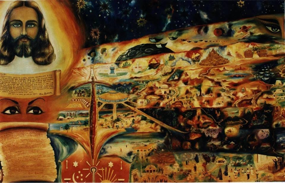 Salve Deus! O Canal Vermelho! Ponto de Partida para o Campo do Mundo da Mediunidade! Salve Deus.
