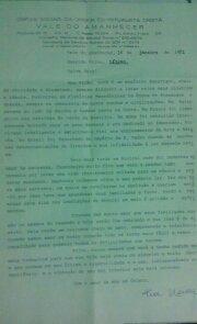 Salve Deus! Carta da Clarividente ao Médium Jaguar Lásaro José Cândido! Salve Deus!