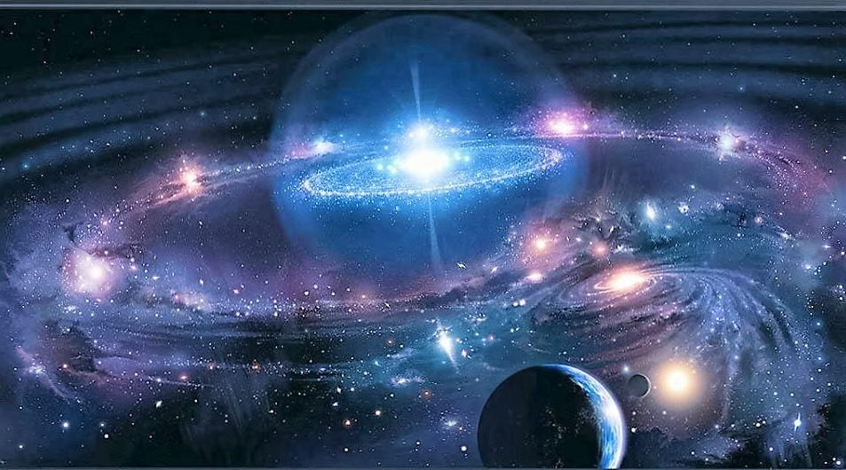Salve Deus! O CÉU! Centro Etérico Universal! Salve Deus.
