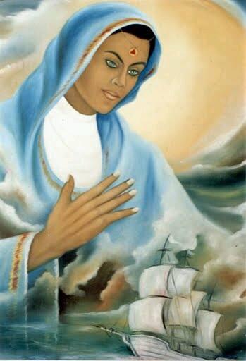 Salve Deus! A Nossa Senhora Apará! Que Alivia e Cicatriza as Feridas, as Dores! Salve Deus.