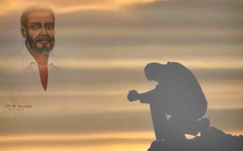 Salve Deus! Pai João de Enoque! O Executivo da doutrina do Amanhecer! Salve Deus.