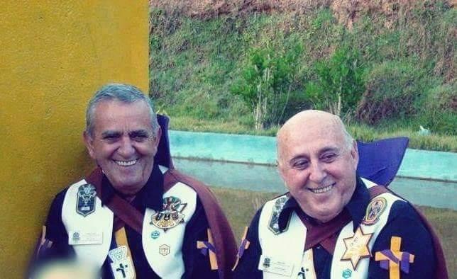 Salve Deus! O Trino Ajarã! Primeiro Doutrinador do Amanhecer! Mestre Gilberto Zelaya e o Trino Ypoarã! Mestre Raul Zelaya. Salve Deus.