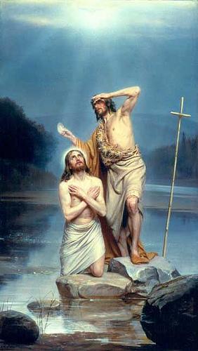 O Batismo de Jesus!