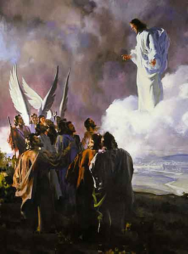 ASCENÇÃO DE JESUS AO CÉU!