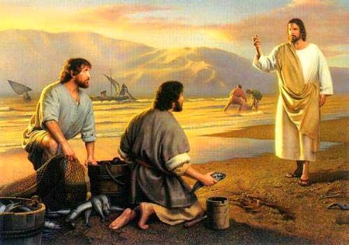 Jesus Convida Aos Pescadores!