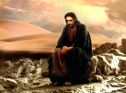 Jesus no Deserto!