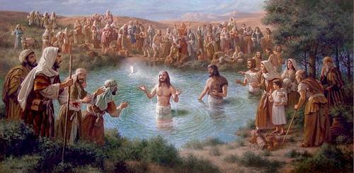 O Batismo de Nosso Senhor Jesus!