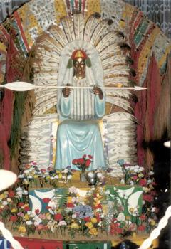Pai Seta Branca o Grande Simiromba de Deus!