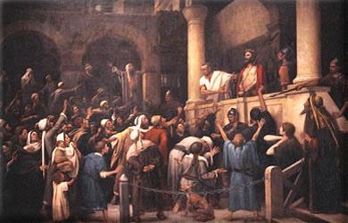 PILATOS FAZ INSINUAÇÕES SOBRE JESUS!