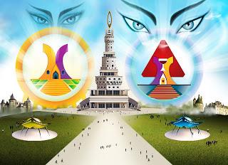 Salve Deus! Plataforma do Grande Oriente de Oxalá! O Triângulo Divino e Eterno! A Santíssima Trindade. O Pai! Filho e Espírito Santo> Salve Deus.